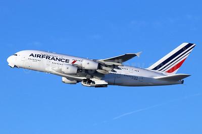Air France Airbus A380-861 F-HPJH (msn 099) LAX (Michael B. Ing). Image: 946095.