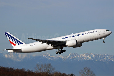 Air France Cargo Boeing 777-F28 F-GUOB (msn 32965) PAE (Nick Dean). Image: 902377.