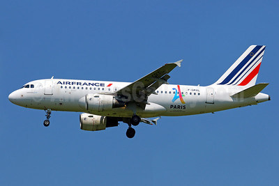 Air France Airbus A319-111 F-GRXL (msn 2938) (Paris-Candidate City 2024 Olympic Games) CDG (Manuel Negrerie). Image: 938051.