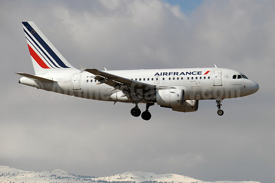 Air France Airbus A318-111 F-GUGH (msn 2344) GVA (Paul Denton). Image: 908096.