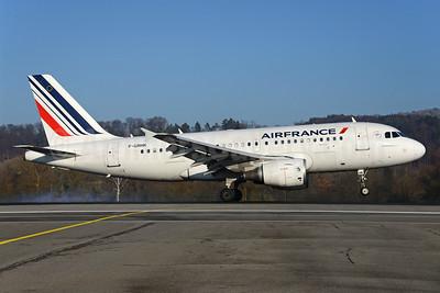 Air France Airbus A319-111 F-GRHK (msn 1190) ZRH (Rolf Wallner). Image: 936358.