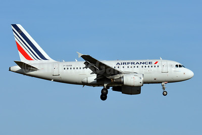 Air France Airbus A318-111 F-GUGB (msn 2059) ZRH (Paul Bannwarth). Image: 943722.