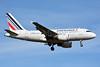 Air France Airbus A318-111 F-GUGA (msn 2035) ZRH (Paul Bannwarth). Image: 927914.