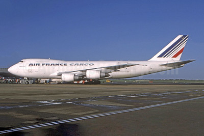 Air France Cargo Boeing 747-228F F-GCBK (msn 24158) LHR (SPA). Image: 944839.