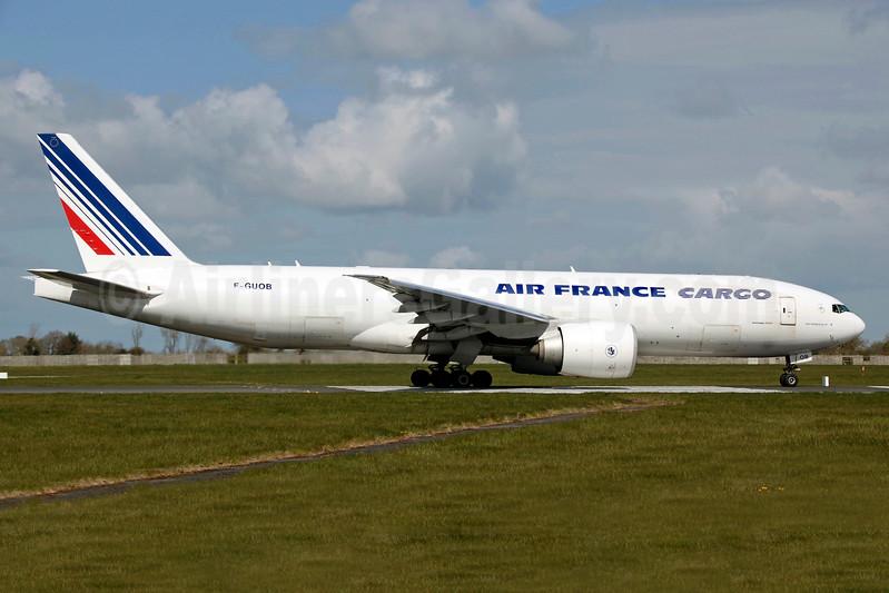 Air France Cargo Boeing 777-F28 F-GUOB (msn 32965) DUB (SM Fitzwilliams Collection). Image: 937228.