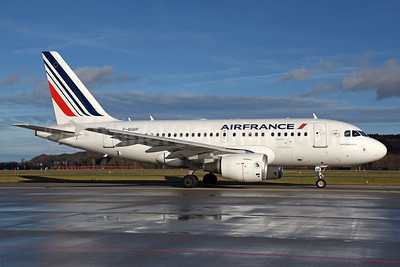 Air France Airbus A318-111 F-GUGP (msn 2967) ZRH (Rolf Wallner). Image: 940469.
