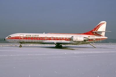 Aero Lloyd Sud Aviation SE.210 Caravelle 10B1R D-ACVK (msn 176) NUE (Michael Roser - Bruce Drum Collection). Image: 954114.