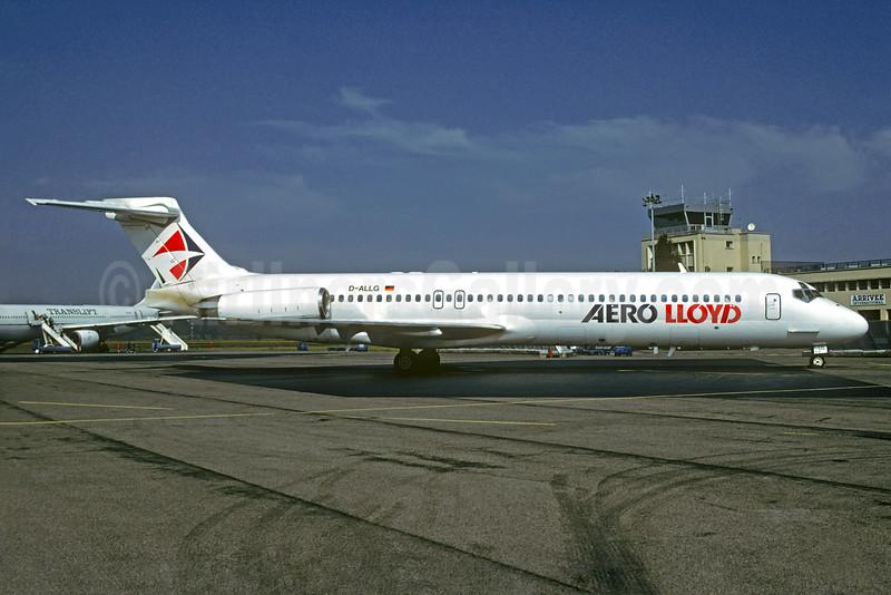 Aero Lloyd McDonnell Douglas DC-9-87 (MD-87) D-ALLG (msn 49670) LDE (Christian Volpati Collection). Image: 932267.