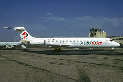 Aero Lloyd McDonnell Douglas DC-9-87 (MD-87) D-ALLG (msn 49670) LDE (Christian Volpati Collection). Image: 932267.
