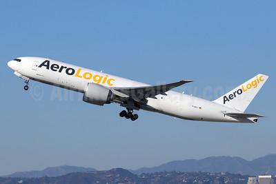 AeroLogic Boeing 777-F6N D-AALJ (msn 37710) LAX (Michael B. Ing). Image: 948403.