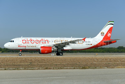 Airberlin (airberlin.com) - Etihad Airways Airbus A320-214 D-ABDU (msn 3516) AYT (Ton Jochems). Image: 934488.