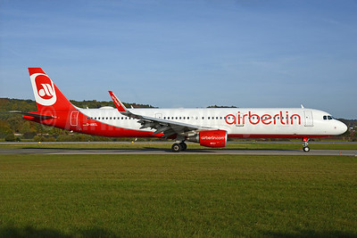 Airberlin (airberlin.com) Airbus A321-211 WL D-ABCL (msn 6168) ZRH (Rolf Wallner). Image: 935304.