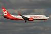 Airberlin (airberlin.com) Boeing 737-86J WL D-ABMR (msn 37781) LHR (SPA). Image: 930413.