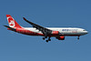 Airberlin (airberlin.com) Airbus A330-223 D-ABXA (msn 288) (Oneworld) JFK (Fred Freketic). Image: 940157.