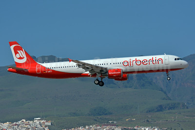 Airberlin (airberlin.com) Airbus A321-211 D-ABCJ (msn 5126) LPA (Paul Bannwarth). Image: 928478.
