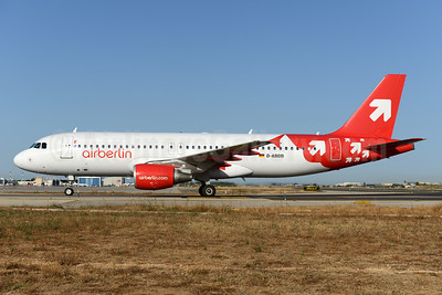 Airberlin (airberlin.com) Airbus A320-214 D-ABDB (msn 2619) (OLT Express colors) PMI (Ton Jochems). Image: 923408.