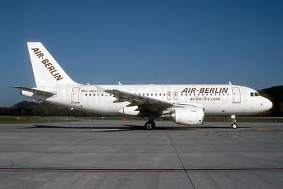 Air-Berlin (airberlin.com) Airbus A319-111 D-ABGG (msn 3202) ZRH (Rolf Wallner). Image: 947047.