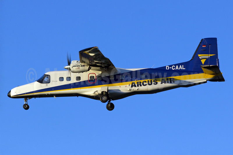 Arcus Air Dornier 228-202 D-CAAL (msn 8152) BHX (Paul Ferry). Image: 928933.