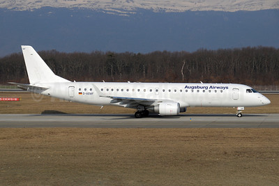 Augsburg Airways Embraer ERJ 190-100LR D-AEMF (msn 19000310) GVA (Paul Denton). Image: 911563.