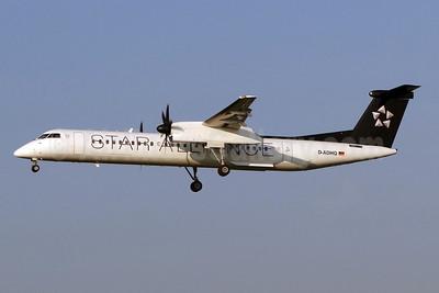 Augsburg Airways Bombardier DHC-8-402 (Q400) D-ADHQ (msn 4016) (Star Alliance) ZRH (Paul Bannwarth). Image: 920186.