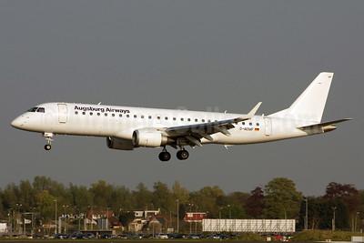 Augsburg Airways Embraer ERJ 190-100LR D-AEMF (msn 19000310) AMS (Michael Stappen). Image: 911562.