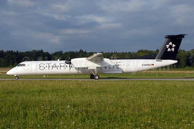 Augsburg Airways Bombardier DHC-8-402 (Q400) D-ADHQ (msn 4016) (Star Alliance) ZRH (Rolf Wallner). Image: 913299.