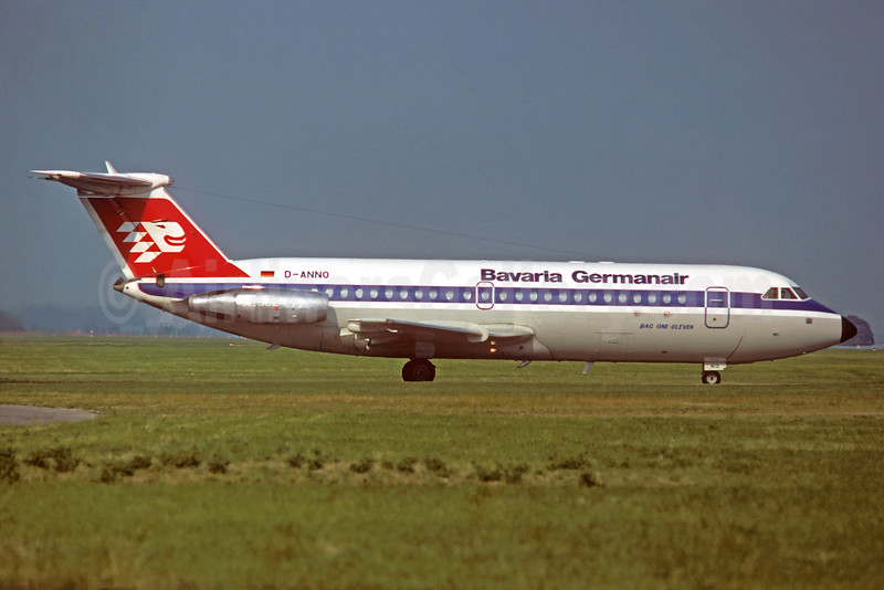 Bavaria Germanair BAC 1-11 414EG D-ANNO (msn 160) (Christian Volpati Collection). Image: 931734.