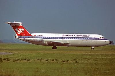 Bavaria Germanair BAC 1-11 414EG D-ANNO (msn 160) (Christian Volpati Collection). Image: 931734.