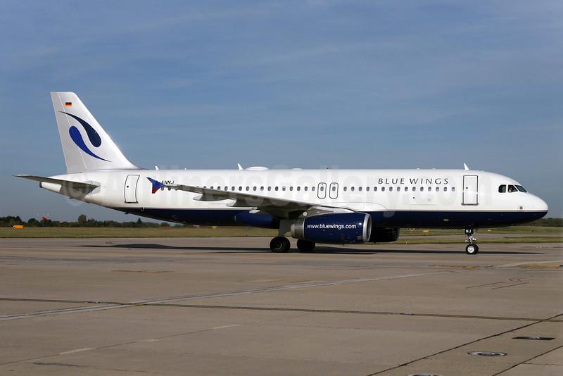 Blue Wings Airbus A320-232 D-ANNJ (msn 1896) STN (Pedro Pics). Image: 901382.