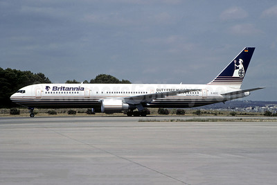 43% of the shares were owned by Britannia Airways (UK)