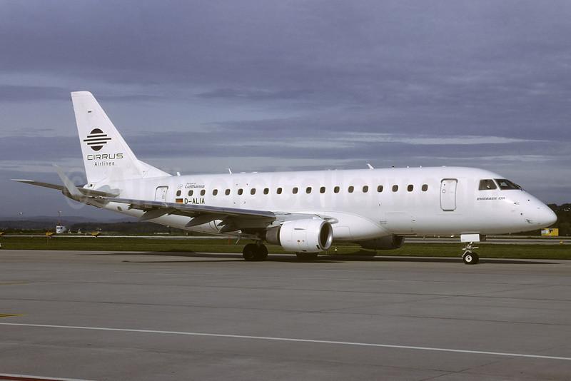 Cirrus Airlines-Lufthansa Embraer ERJ 170-100LR D-ALIA (msn 17000006) (Richard Vandervord). Image: 907612.