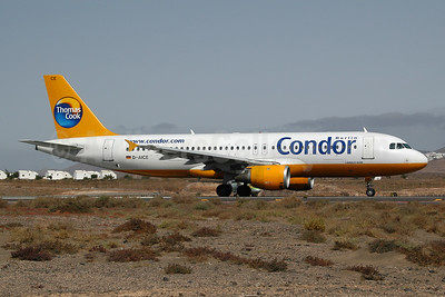 Condor Berlin - Thomas Cook Airbus Airbus A320-212 D-AICE (msn 894) ACE (Ton Jochems). Image: 952894.
