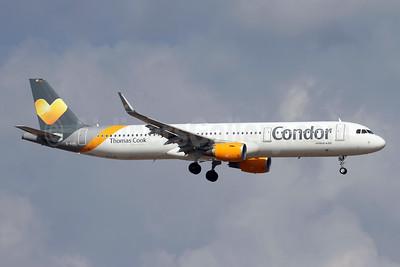 Condor Flugdienst-Thomas Cook Airbus A321-211 WL D-AIAG (msn 6590) AYT (Andi Hiltl). Image: 945978.