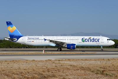 Condor Flugdienst-Thomas Cook Airbus A321-211 D-AIAA (msn 1607) (Janosch - Kastenfrosch and Tigerente) AYT (Ton Jochems). Image: 938586.