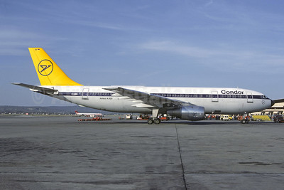 Condor Flugdienst Airbus A300B4-2C D-AIBB (msn 57) PMI (Christian Volpati Collection). Image: 947058.