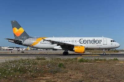 Condor Flugdienst-Thomas Cook Airbus A320-212 D-AICL (msn 1437) PMI (Ton Jochems). Image: 933664.