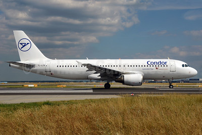 Condor Flugdienst-SmartLynx Airlines Airbus A320-214 YL-LCK (msn 936) FRA (Bernhard Ross). Image: 913308.