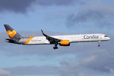 Condor Flugdienst-Thomas Cook Boeing 757-3CQ WL G-JMAB (msn 32242) LGW (Antony J. Best). Image: 941150.