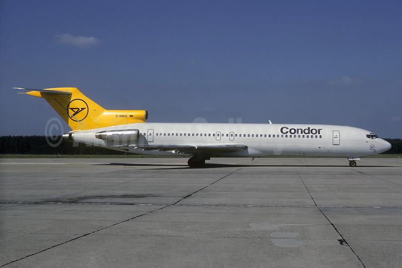 Condor Flugdienst Boeing 727-230 D-ABKK (msn 21113) NUE (Christian Volpati Collection). Image: 936770.
