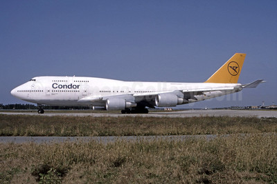 Leased from Lufthansa in June 1993