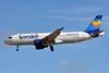 Condor Flugdienst-Thomas Cook Airbus A320-212 D-AICI (msn 1381) (Janosch - Kastenfrosch and Tigerente) (Sunny Heart) LPA (Paul Bannwarth). Image: 929500.