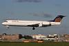 Contact Air Flugdienst Fokker F.28 Mk. 0100 D-AFKC (msn 11496) (Lufthansa Regional colors) LHR (SPA). Image: 937130.