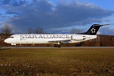 Contact Air Flugdienst Fokker F.28 Mk. 0100 D-AFKA (msn 11517) ZRH (Rolf Wallner). Image: 902501.