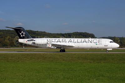 Contact Air Flugdienst Fokker F.28 Mk. 0100 D-AGPH (msn 11308) ZRH (Rolf Wallner). Image: 907317.