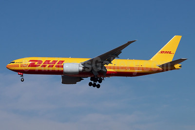 DHL - AeroLogic Boeing 777F D-AALL (msn 66081) LAX (Michael B. Ing). Image: 952371.