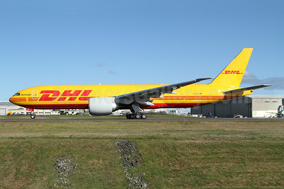 DHL - AeroLogic Boeing 777F D-AALM (msn 66082) PAE (Nick Dean). Image: 947701.