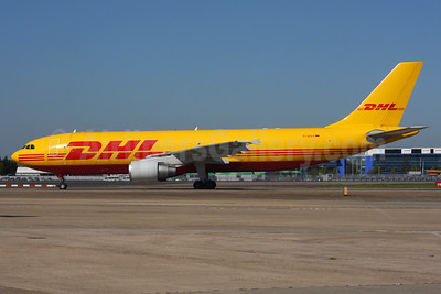 DHL (European Air Transport Leipzig) Airbus A300B4-622R (F) D-AEAT (msn 740) LHR (SPA). Image: 937537.