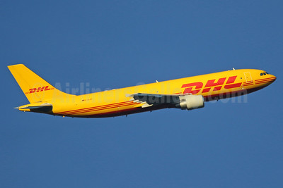 DHL (European Air Transport Leipzig) Airbus A300B4-622R (F) D-AEAS (msn 737) LHR (SPA). Image: 937367.