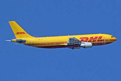 DHL (European Air Transport Leipzig) Airbus A300B4-622R (F) D-AEAF (msn 836) LHR (SPA). Image: 943436.