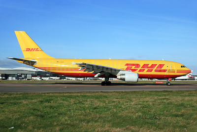 DHL (European Air Transport Leipzig) Airbus A300B4-622R (F) D-AEAR (msn 730) LHR (SPA). Image: 928058.